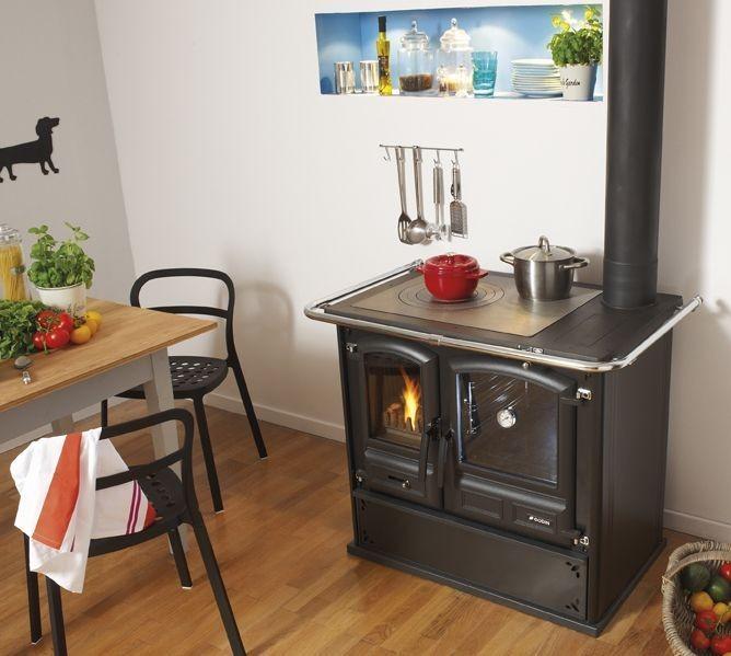 Kuchnie węglowe, na drewno, pellety, piecyki, kominki 37