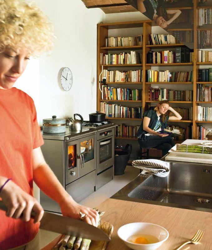 Kuchnie węglowe, na drewno, pellety, piecyki, kominki 2