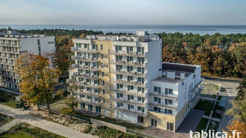 Apartament Mielno-Holiday*401, nad samym morzem. 0
