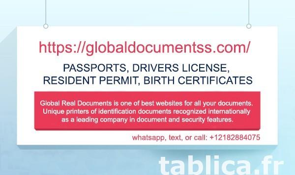 Buy driving license, ID card (https://www.globaldocumentss.c 0