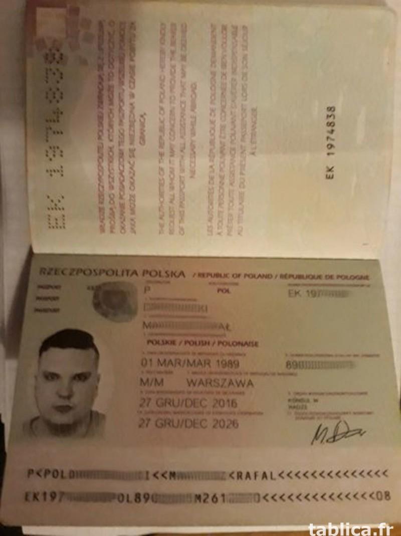 Dokumenty, Paszporty, Dowody Osobiste, Prawa Jazdy 2